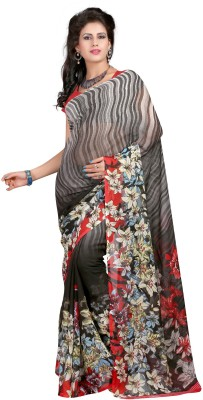 Aarnas Fashion Printed Bollywood Georgette Sari