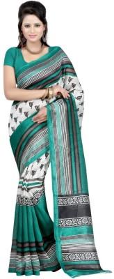 Fashion Fiasta Checkered Bhagalpuri Art Silk Sari
