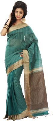 SSMITN Striped Jamdani Cotton Sari