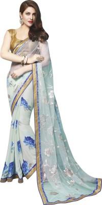 Sahiba Printed Bollywood Georgette Sari