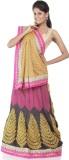 Chhabra 555 Printed Georgette Saree (Yel...