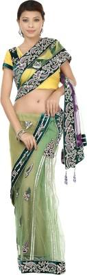 Gopalka Prints Embellished Fashion Handloom Net Sari