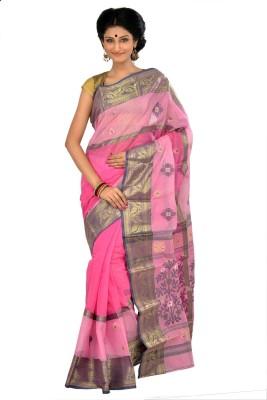 RKB Woven Tant Handloom Cotton Sari