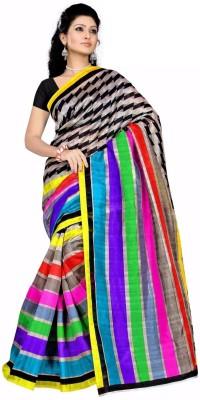 KSM Printed Bhagalpuri Cotton Sari
