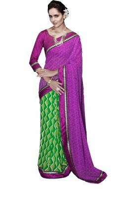 Nilu Tex Embriodered Fashion Handloom Georgette Sari