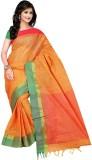 Moon Sarees Striped Tangail Handloom Cot...