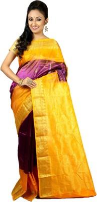 Womilo Woven Kanjivaram Silk Sari