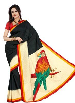 Swaranjali Self Design, Printed Fashion Art Silk, Cotton Sari