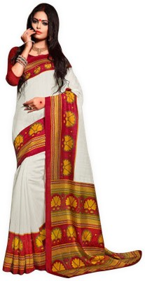 Glad2baWoman Self Design Bhagalpuri Art Silk Sari