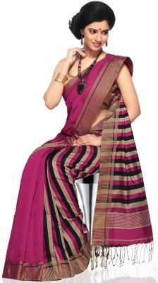 Appu Striped Fashion Handloom Kota Cotton Sari