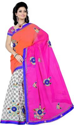 Sitaram Printed Fashion Georgette Sari