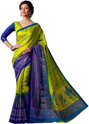 Zemi Self Design Fashion Tussar Silk Sari