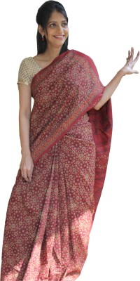 Indo Mood Woven Daily Wear Tussar Silk Sari