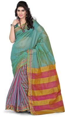 Azara Lifestyle Self Design Manipuri Silk Cotton Blend Sari