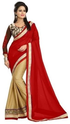 Seera Embriodered Fashion Synthetic Georgette Sari