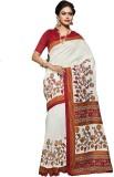 Shree Vardhman Printed Fashion Silk Sare...