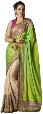 Indian Pahnaav Embriodered Bollywood Cotton Sari