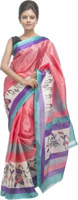 Retaaz Graphic Print Bhagalpuri Silk Sari
