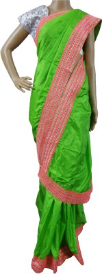 Mosanta De Boutique Solid Fashion Handloom Pure Silk Sari