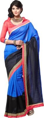 Archishmathi Solid Bollywood Art Silk Sari