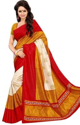 Sarovar Sarees Self Design, Geometric Print, Striped, Printed, Graphic Print, Animal Print, Embriodered, Plain, Floral Print, Digital Prints, Polka Print, Solid Mysore Art Silk Sari