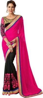 Style Sensus Self Design Fashion Georgette Sari
