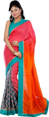 Kshama Printed Daily Wear Silk Sari