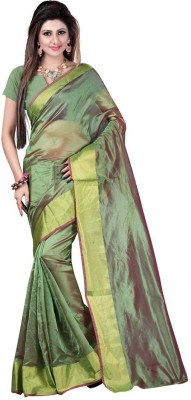 VardhitaFashion Self Design Kota Doria Art Silk Sari
