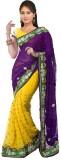 Heer Ganga Embroidered Fashion Chiffon S...