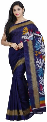 Fashion On Sky Self Design Bollywood Art Silk Sari