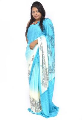 Gulmohaar Geometric Print, Self Design Bollywood Jacquard Sari