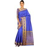 Ashika Printed Fashion Tussar Silk Sari ...