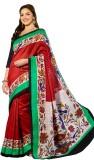 Vipul Printed Bhagalpuri Art Silk Saree ...