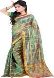 Laxmi Pooja Solid Meghalaya Silk Saree (...