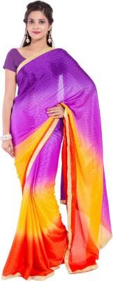 Mitali's Collection Self Design Bollywood Synthetic Sari