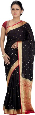 Srinidhi Silks Woven Kanjivaram Crepe Sari