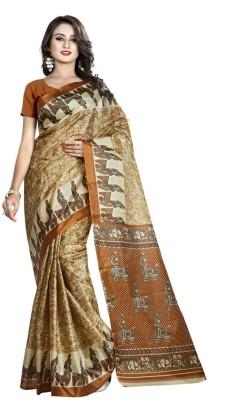 Parishi Fashion Printed Fashion Taffeta Sari