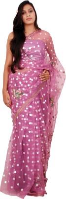 Shree Ji Solid Daily Wear Net Sari