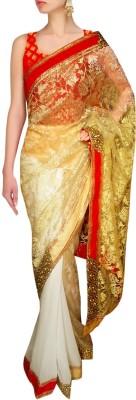 Sthavi Embriodered Fashion Chiffon Sari