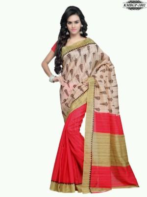 BOnline Printed Bhagalpuri Silk Sari