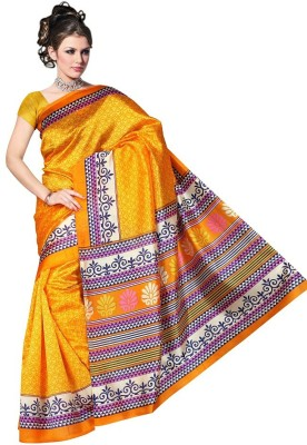 Mahaprabhu Printed Daily Wear Silk Sari