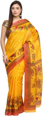 Fostelo Digital Prints Fashion Art Silk Sari