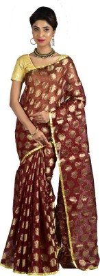 Manisha Designer Self Design Fashion Cotton Sari