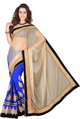 The Core Fashion Embriodered Fashion Georgette Sari