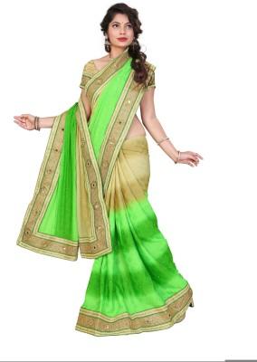Jhenny Fabrics Embriodered Fashion Handloom Jacquard Sari