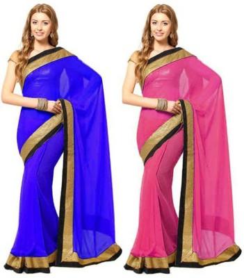Shreepati Self Design Bollywood Pure Georgette Sari