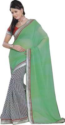 Kaveesha Printed Bollywood Chiffon Sari