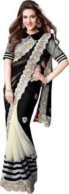 Sayonafashion Embriodered Fashion Pure Georgette Sari