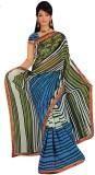 Radhika Sarees Printed Daily Wear Handlo...
