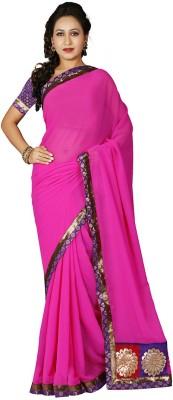 RA Self Design Bollywood Chiffon Sari